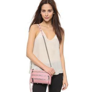 Rebecca Minkoff Bags - Rebecca Minkoff   mini 5 zip pale pink crossbody